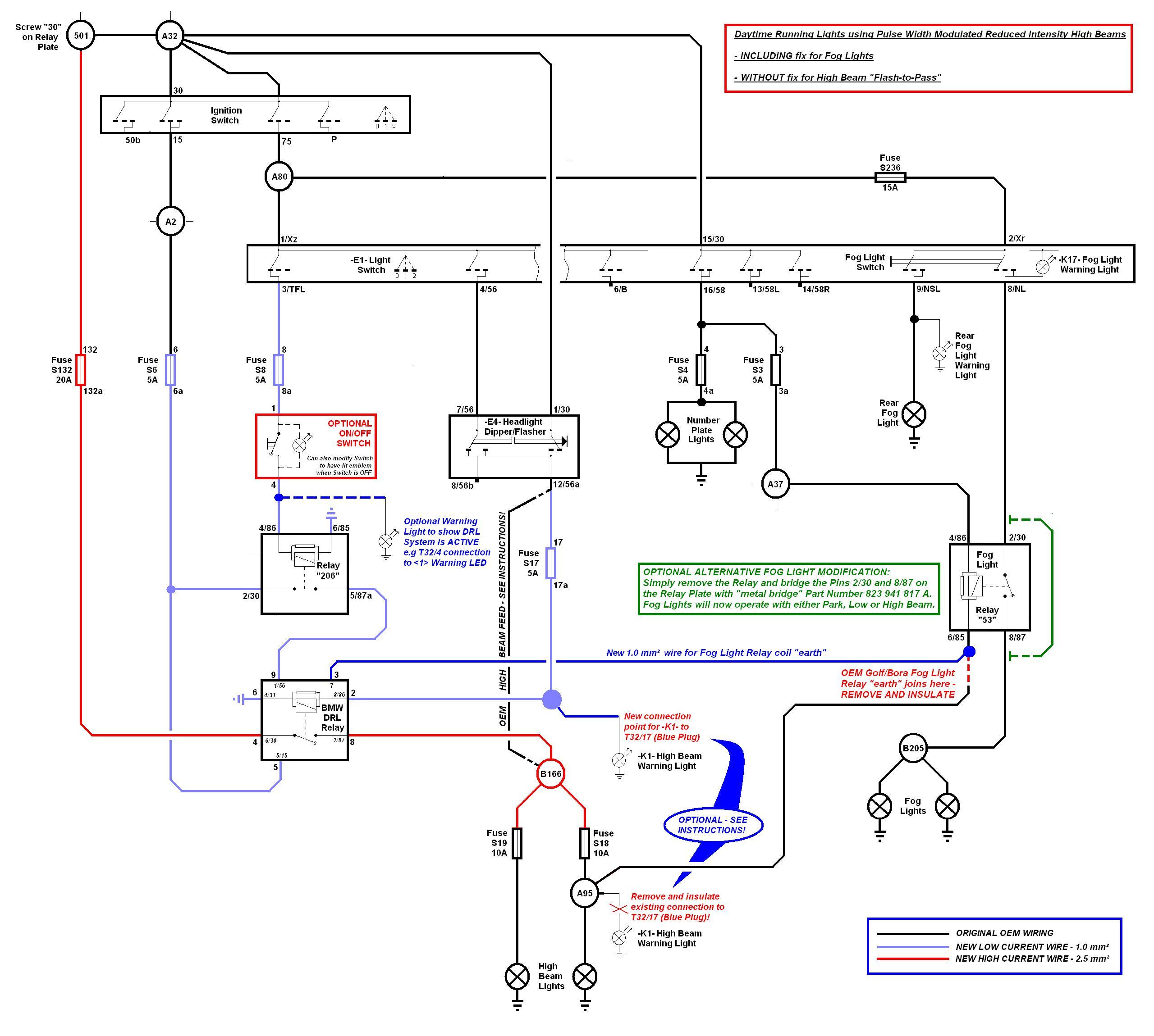 Daytime Running Light Wiring Diagram - Database